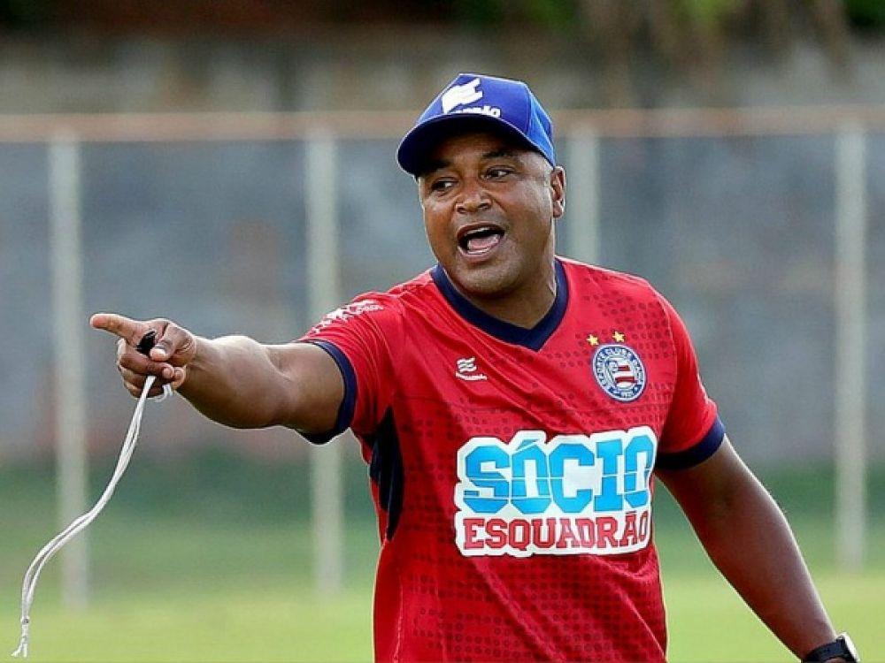 Bahia não vence há oito jogos e técnico Roger Machado está pressionado FOTO: Felipe Oliveira/EC Bahia