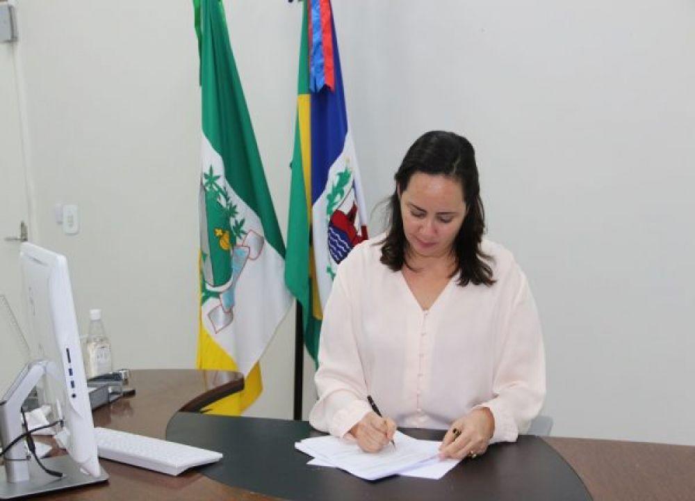 Prefeita Fabiana Pessoa agradece pronto atendimento do Governo Federal a sua reivindicação