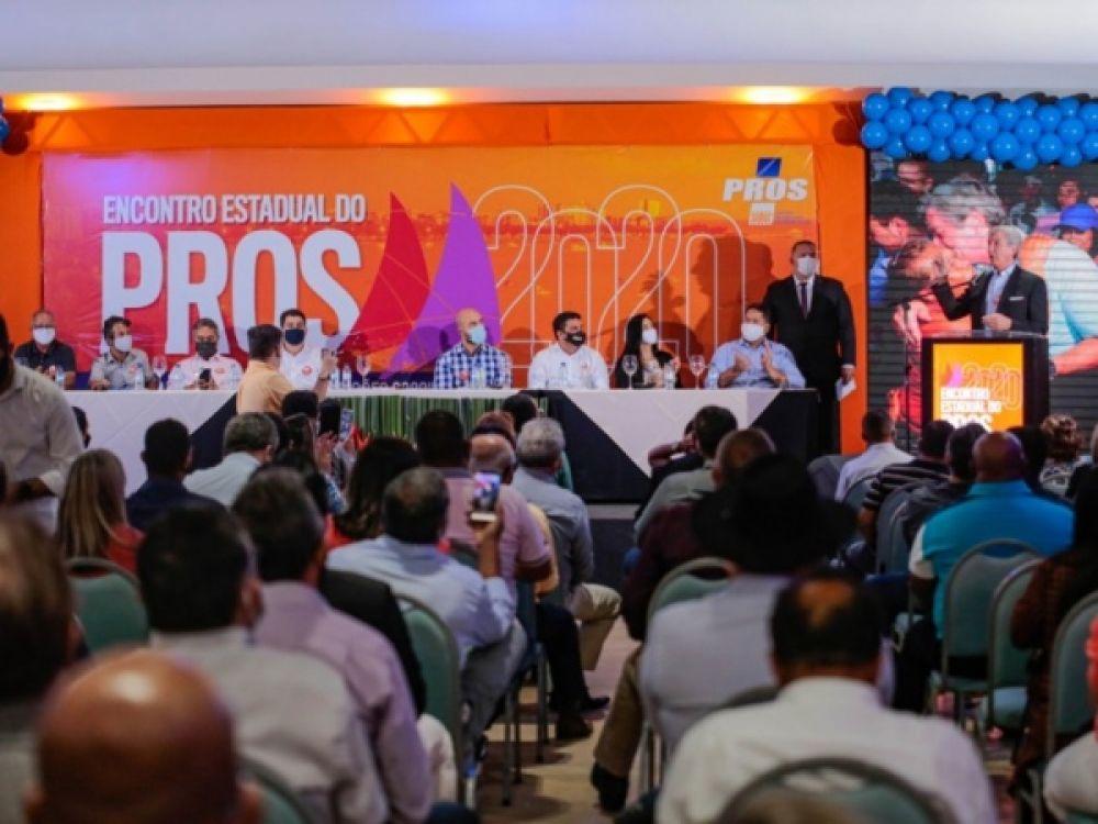 PROS realizou nesta quinta-feira um encontro estadual com os filiados FOTO: ASSESSORIA
