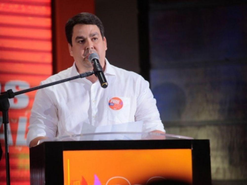 Presidente do PROS em Alagoas, Eduardo Rossiter, destacou o engajamento dos filiados paras eleições de 2020 FOTO: ASSESSORIA