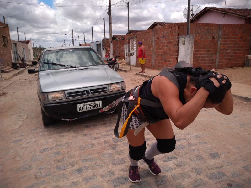 A Strongman alagoana, Socorro Oliveira