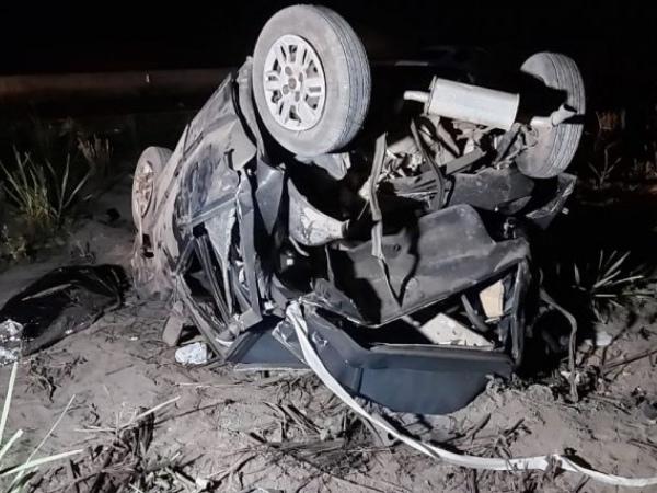 Colisão entre carros deixa dois mortos em São Miguel dos Campos