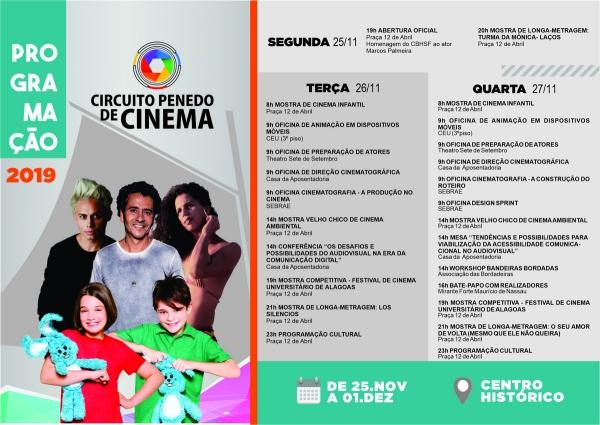 Circuito Penedo de Cinema 2019 terá filmes premiados e presenças nacionais