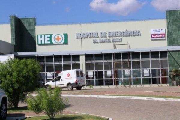 Hospital de Emergência do Agreste (HEA), em Arapiraca / Foto: ASCON / HEA