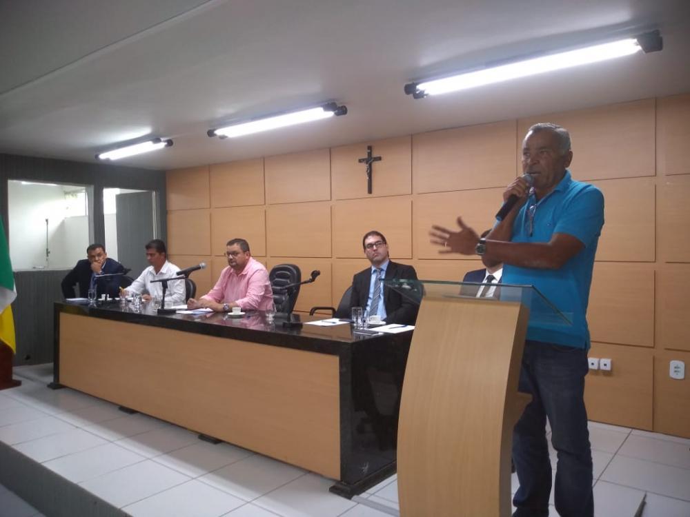 Deputado estadual Tarcizo Freire