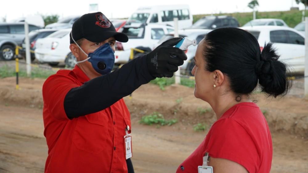 COVID-19: MVV recebe fiscalização da Secretaria de Saúde de Craíbas