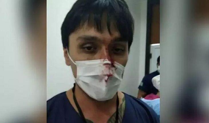 Paciente agride médico após receber diagnóstico de coronavírus