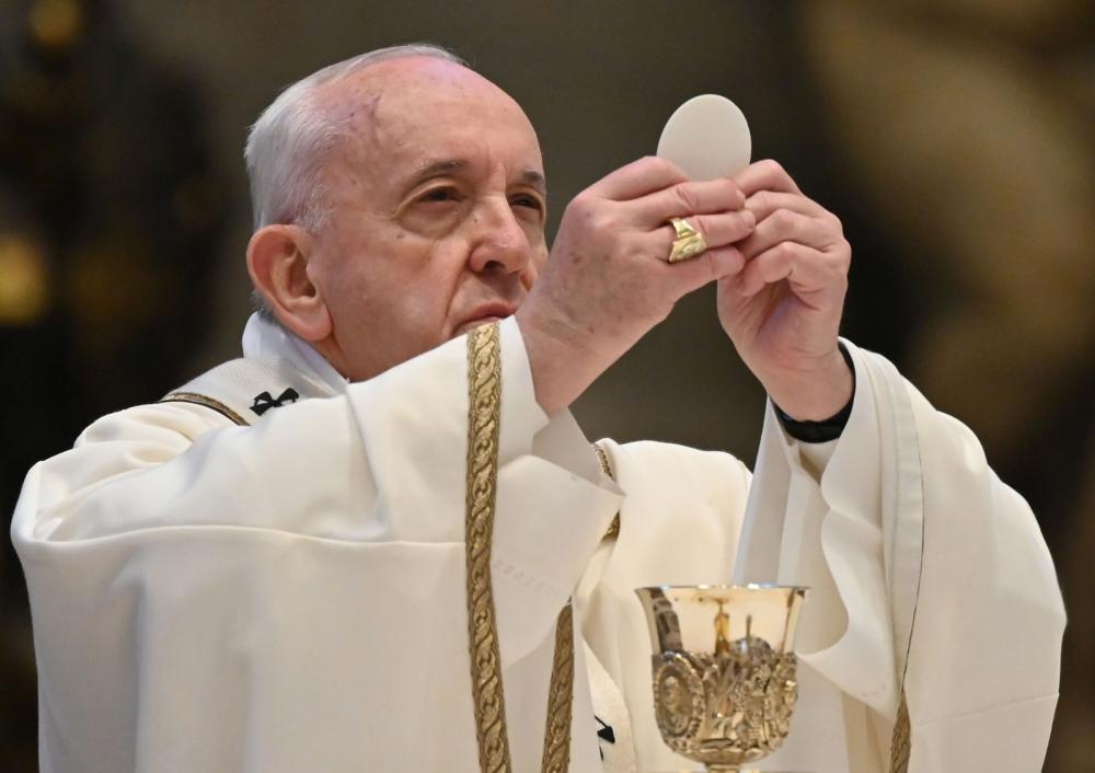 Papa Francisco pede união para enfrentar pandemia na missa do Domingo de Páscoa