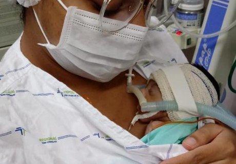 Hospital de Arapiraca promove ação com mães e bebês da UCI Canguru