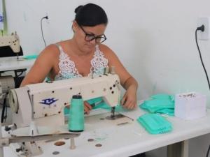 Prefeitura implementa fabricação de máscaras em São José da Laje FOTO: divulgação