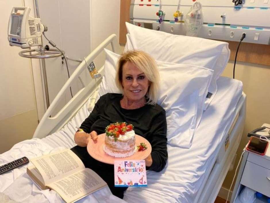 Ana Maria anuncia que está curada do câncer: 'Saiu tudo'