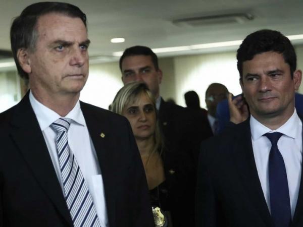 Moro prestará depoimento à PF neste sábado sobre acusações contra Bolsonaro FOTO: José Cruz/Agência Brasil