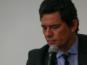 MOro foi ouvido por mais de 8 horas na sede da Polícia Federal FOTO: Pedro Ladeira/Folhapress