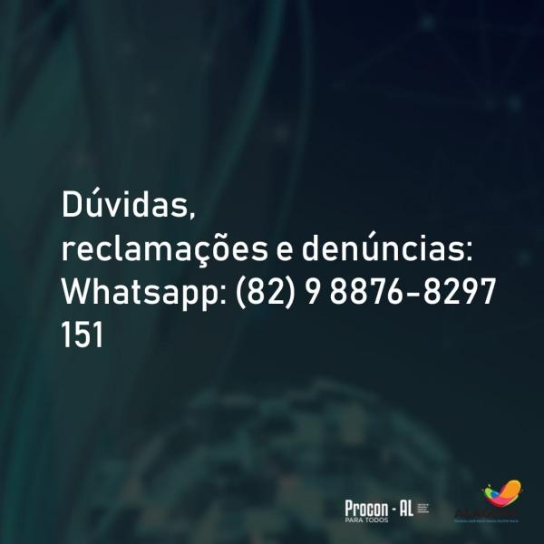 O canal de comunicação entre o Instituto e os consumidores se dá por meio de mensagens pelo aplicativo WhatsApp e por ligações gratuitas, através do 151 | Foto: Ascom Procon