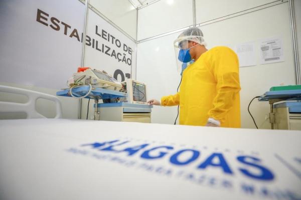 Unidade abre 150 novos leitos clínicos destinados exclusivamente para pacientes infectados pelo coronavírus
