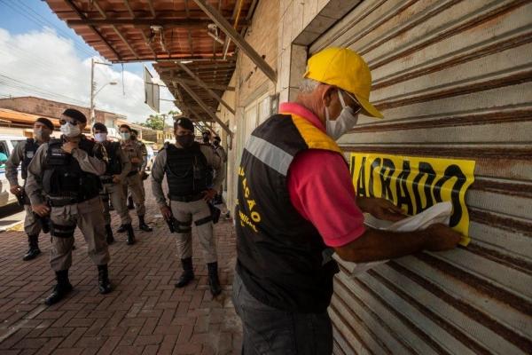Operação conjunta reforça fiscalização ao cumprimento do decreto emergencial em Maceió