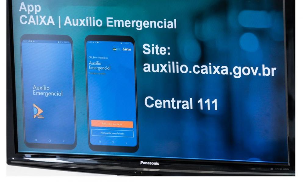 Caixa pagou R$ 70,8 bilhões em auxílio emergencial