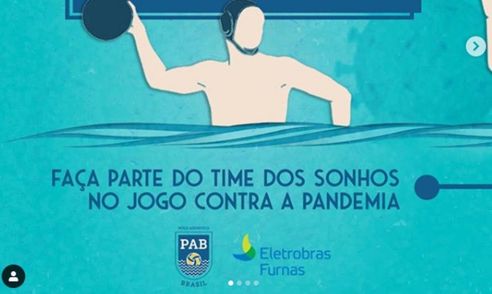 Covid-19: Liga Polo Aquático Brasil promove campanha solidária