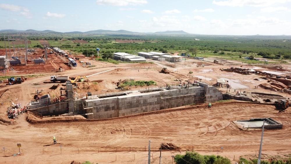 Mineração: Projeto Serrote ultrapassa 50% das obras concluídas