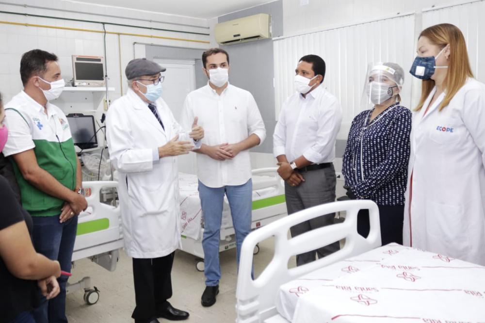 Palmeira tem novos leitos de UCI e de UTI para pacientes com coronavírus