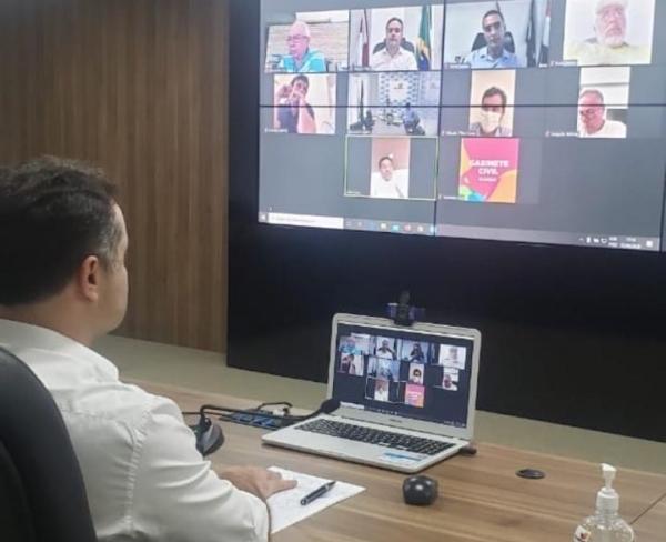 Anúncio foi feito em reunião por videoconferência nessa quarta-feira (03)Reprodução