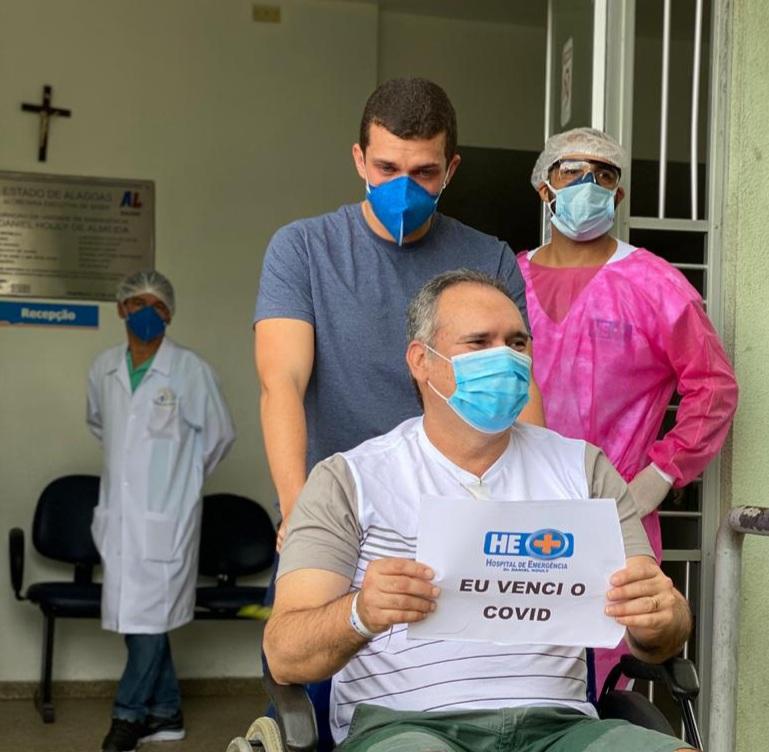 Mais um momento de muita emoção no Hospital de Emergência do Agreste, em Arapiraca
