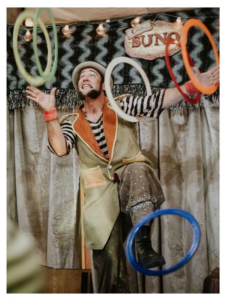 Live de Circo é opção de diversão nesse final de semana