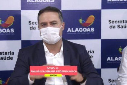 Renan Filho divulga novas medidas para flexibilização do isolamento social