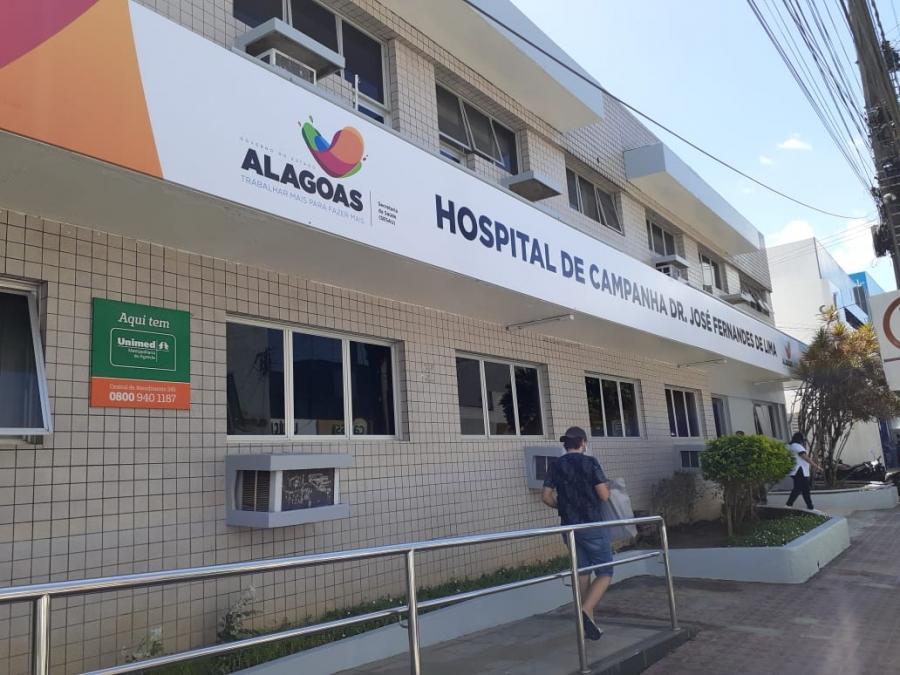 Hospital de Campanha segue protocolos e ajuda a salvar vidas em Arapiraca