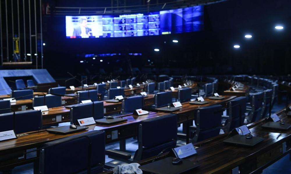 Senado planeja primeiras sessões presenciais para agosto