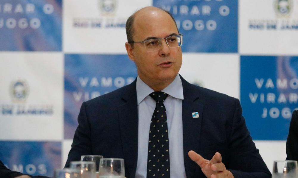 Witzel depõe à PF sobre operações policiais no estado do Rio