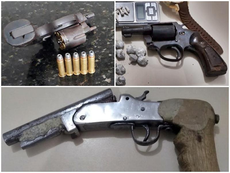 Mais de 1250 armas de fogo foram apreendidas em Alagoas de janeiro a outubro deste ano