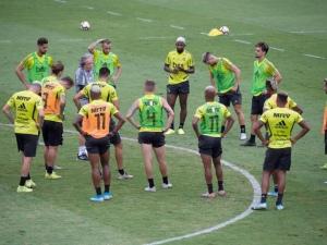 Flamengo embarca com o sonho do bicampeonato FOTO: Alexandre Vidal / Flamengo