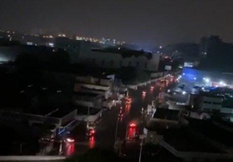 Apagão deixa bairros sem energia e clarão assusta moradores em Maceió
