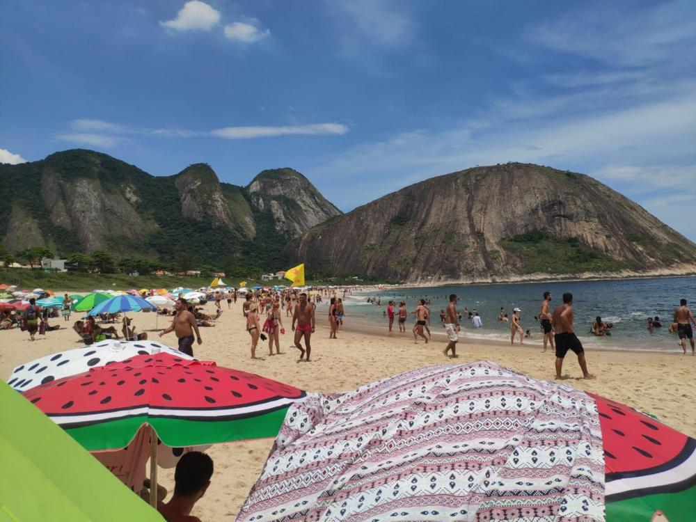 Rio de Janeiro registra 54,8°C de sensação térmica neste sábado FOTO: João Navega/ Arquivo Pessoal
