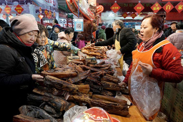 População da China cresceu para 1,4 bilhão de pessoas, revela estudo do governo REUTERS/Jason Lee