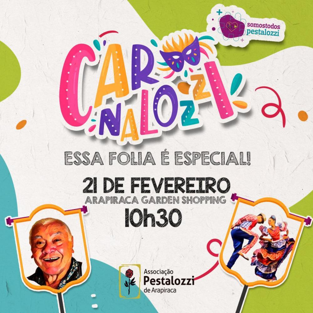Mestre Nelson Rosa será o homenageado do Carnaval da Pestalozzi Arapiraca