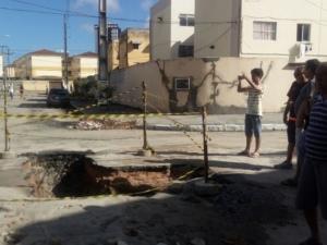 Defesa Civil inicia isolamento de imoveis do 2° lote FOTO: Arquivo Gazetaweb