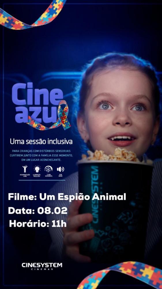 Cinema de Arapiraca terá sessão exclusiva para autistas todos os meses