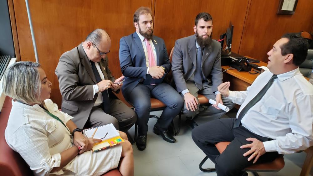 Severino Pessoa recebe representantes da Ufal e reafirma investimentos na instituição