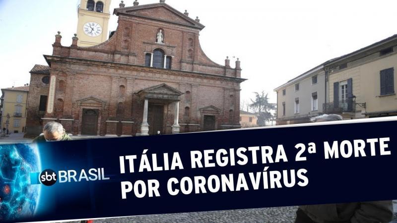 Itália isola 10 cidades após confirmar segunda morte pelo novo coronavírus